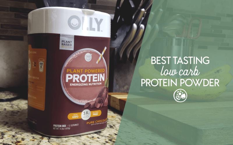 Best tasting low carb protein powder