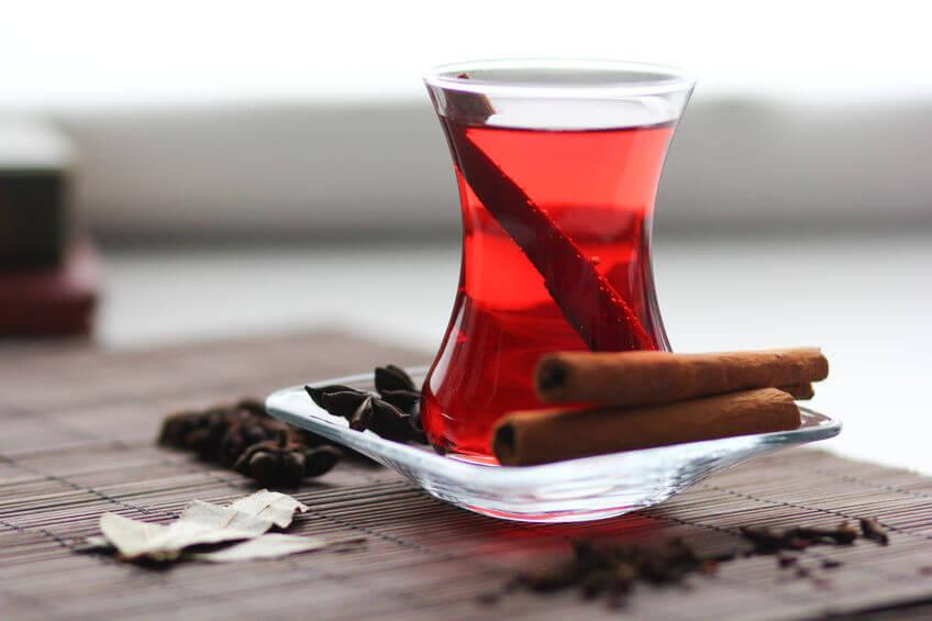 Cinnamon hibiscus tea