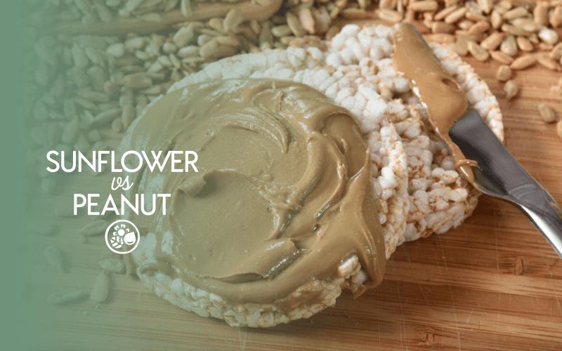 Sunflower butter VS peanut butter