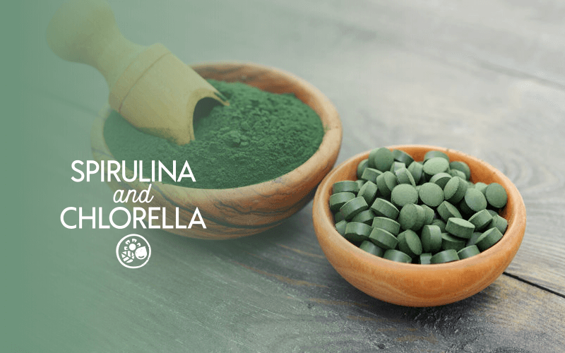 Spirulina and chlorella benefits