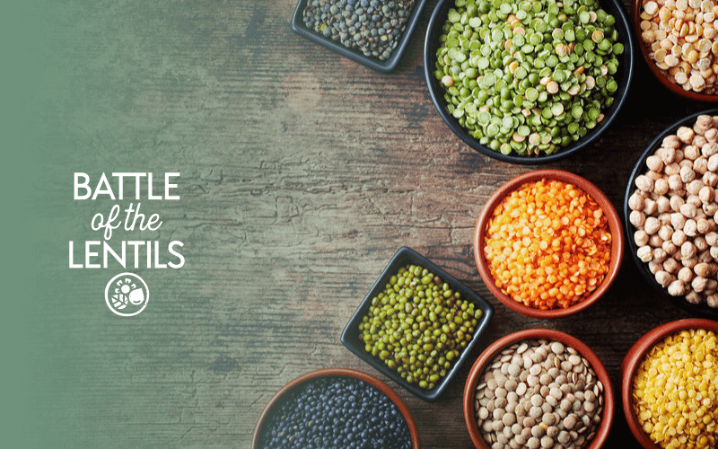 Yellow lentils vs red lentils