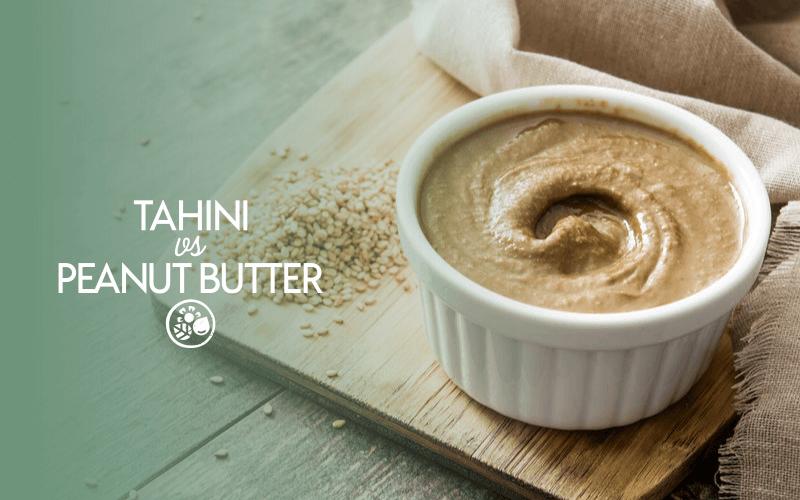 Tahini vs peanut butter